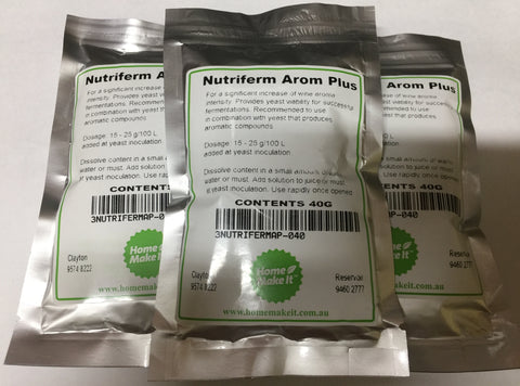 Enartis Nutriferm Arom Plus Nutrient for Red Wines - 40g