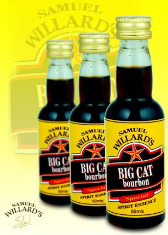 Samuel Willards Gold Star Big Cat Bourbon 50mls