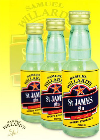 Samuel Willards Gold Star St James Gin 50mls