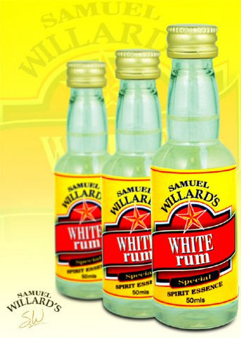 Samuel Willards Gold Star White Rum 50mls