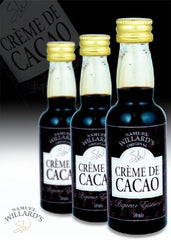 Samuel Willards Creme de Cacao 50mls