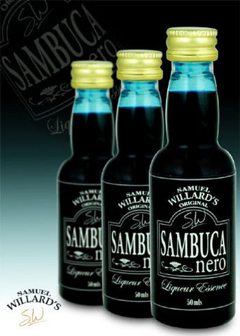Samuel Willards Sambuca Nero 50mls
