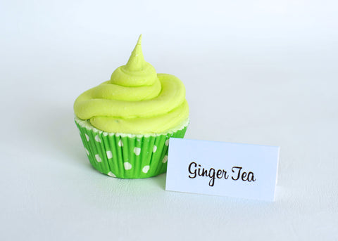 Ginger Tea Cupcake