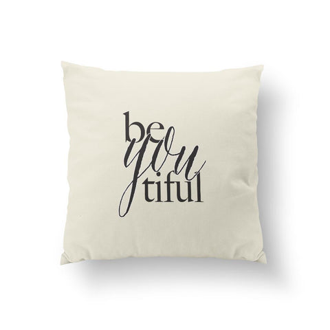 Be you tiful - Black Pillow