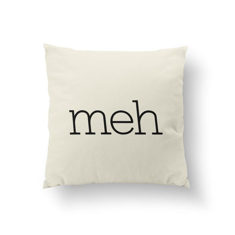 Meh -  Black Pillow