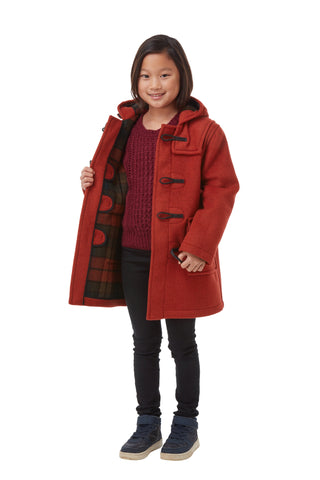 Kinder Classic Dufflecoat - Burnt Orange