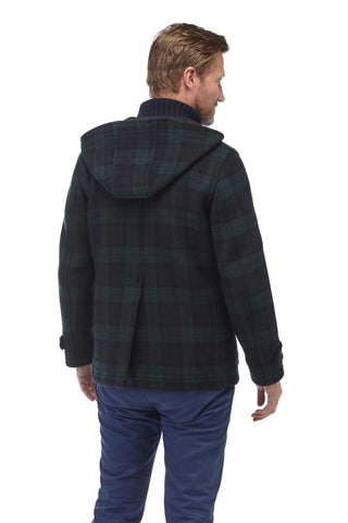 Men's Hackney Check Duffle Coat