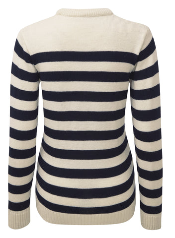BRETON MERINO SWEATER FOR WOMEN - Dufflecoatsukify