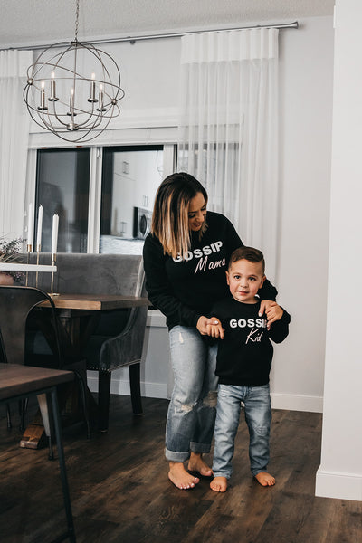"""Mama & Me"" Crewneck Sweater Set 