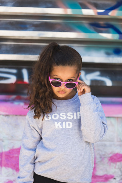 "The ""GOSSIP KID"" Gossip Kids Unisex Crewneck Sweater 