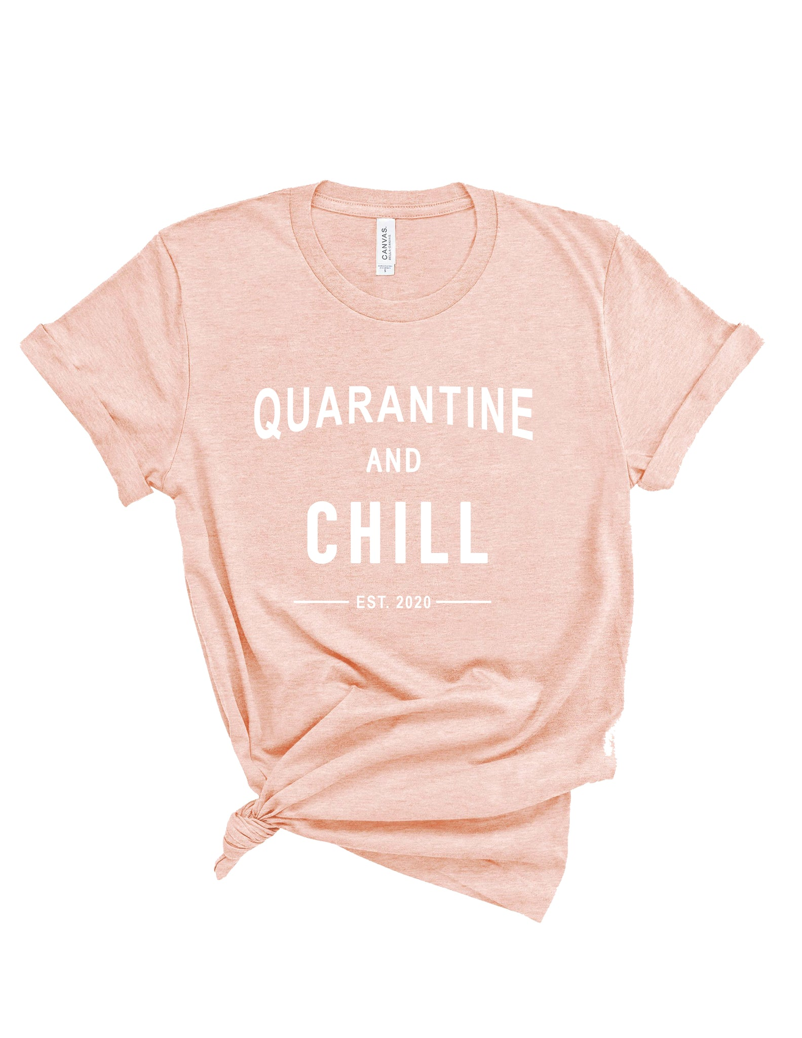 "The ""Quarantine and Chill"" Tee"