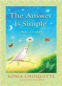 Answer Is Simple Oracle Cards - Divine Gift Olinda