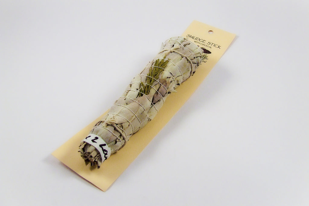 Smudge Stick with crystal - Divine Gift Olinda