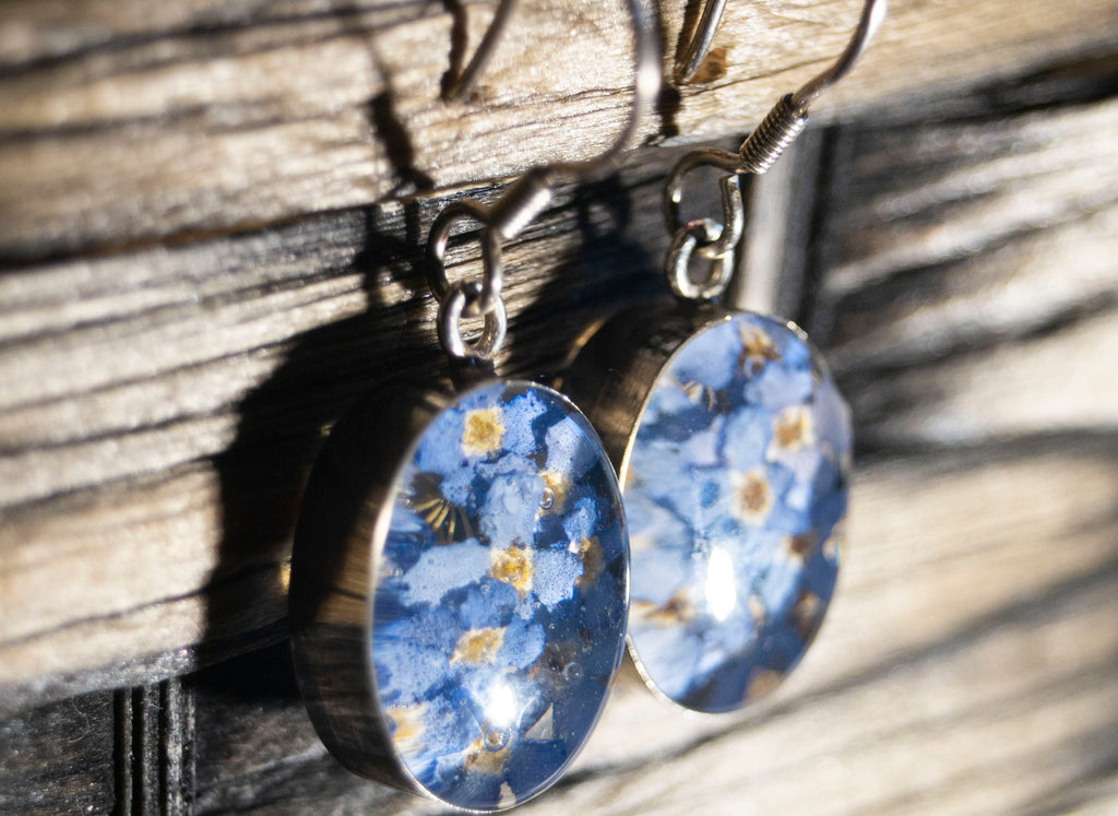 Forget-me-nots Earrings - Divine Gift Olinda