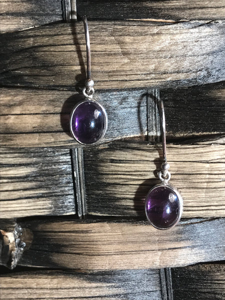 Amethyst earrings 925 - Divine Gift Olinda