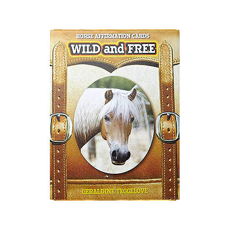 Wild and Free Horse Affirmation Cards - Divine Gift Olinda
