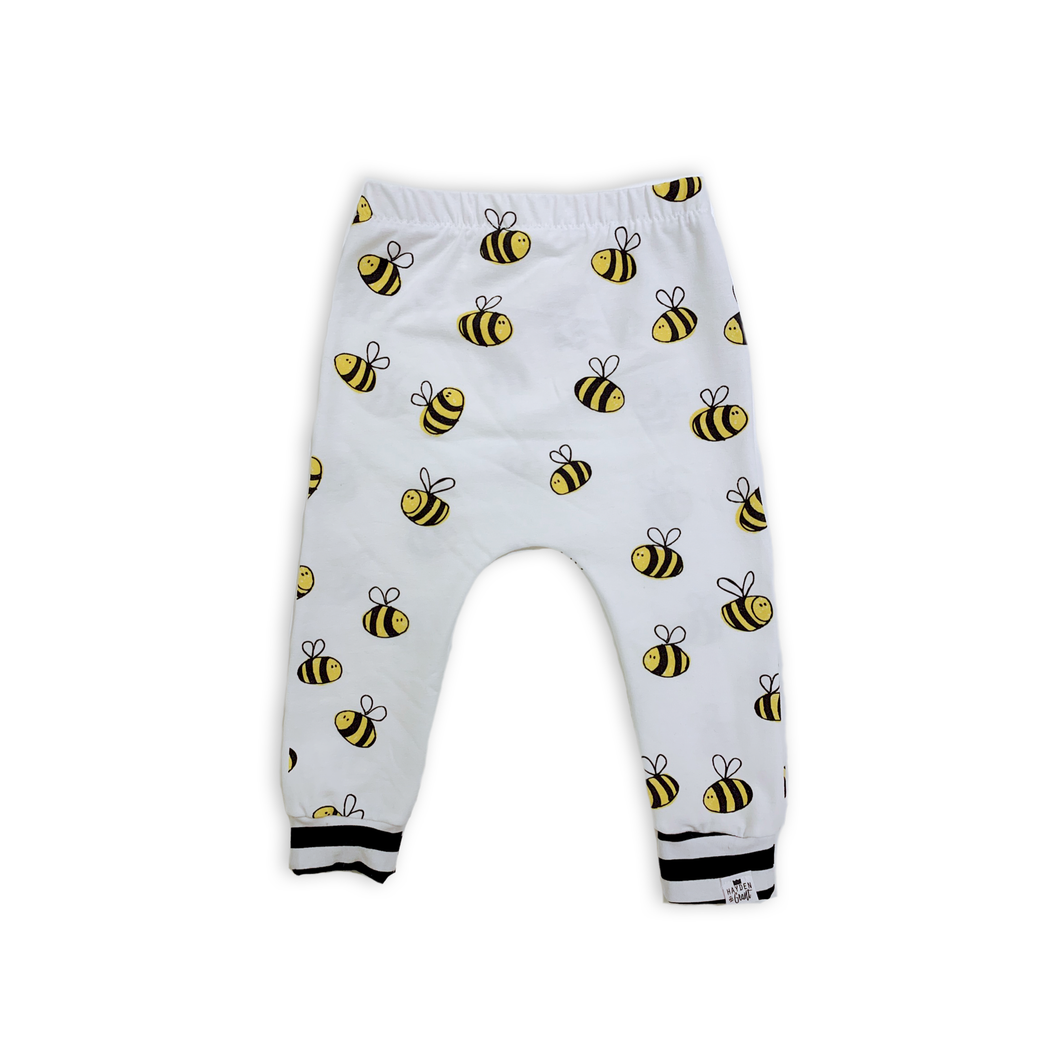 Bees Knees Harem Pants - Joggers - Leggings for Baby Toddler and Kids