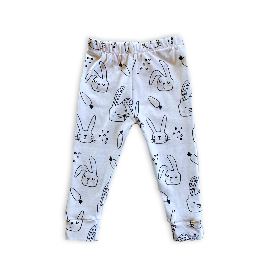Bunny Leggings - Joggers - Harem Pants for Baby Toddler and Kids