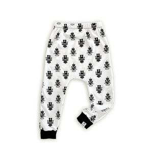 Robot Harem Pants - Joggers - Leggings for Baby Toddler and Kids