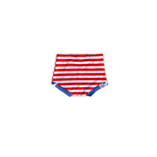 Stripes + Stars Bummies or Harem Shorts for Baby Toddler and Kids (Stripe Base)