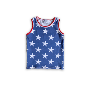 Stars + Stripes Handmade Tank Top [Star Base]