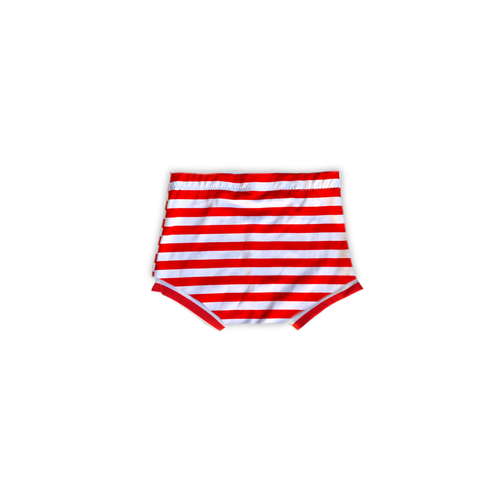 Red + White Striped Bummies or Harem Shorts for Baby Toddler and  [stars + stripes collection]