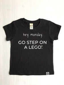Go Step on a Lego Graphic Tee - Baby Toddler Kids