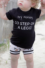 Load image into Gallery viewer, Go Step on a Lego Graphic Tee - Baby Toddler Kids