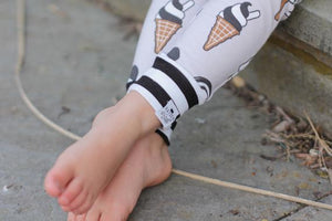 Ice Cream Leggings for Baby Toddler and Kids