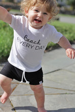 Load image into Gallery viewer, Black Bummies or Harem Shorts for Baby Toddler and Kids