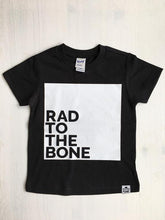 Load image into Gallery viewer, Rad to the Bone Graphic Tee - Baby Toddler Kids
