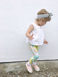 Floral Leggings for Baby Toddler and Kids
