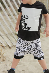 Rad to the Bone Graphic Tee - Baby Toddler Kids
