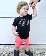 Load image into Gallery viewer, Rad-ish Graphic Tee - Baby Toddler Kids