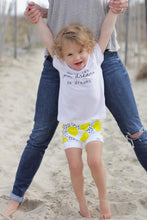 Load image into Gallery viewer, Lemon Bummies or Harem Shorts for Baby Toddler and Kids