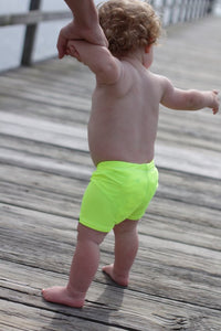 Neon Euro Swim Shorts- Baby Toddler Kids