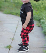 Load image into Gallery viewer, Buffalo Plaid Harem Pants - Joggers - Leggings for Baby Toddler and Kids