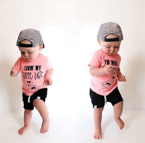 Black Bummies or Harem Shorts for Baby Toddler and Kids