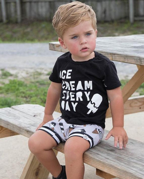 Ice Cream Bummies or Harem Shorts for Baby Toddler and Kids
