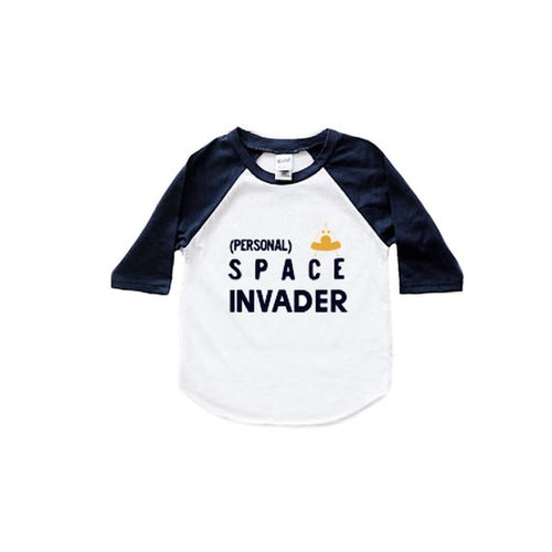 Personal Space Invader Graphic Tee - Baby Toddler Kids