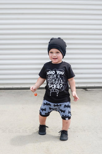 Bat Harem Shorts or Bummies for Baby Toddler and Kids