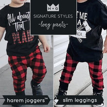 Load image into Gallery viewer, Bees Knees Harem Pants - Joggers - Leggings for Baby Toddler and Kids