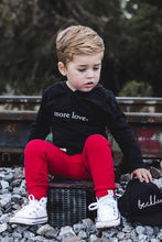 Load image into Gallery viewer, More Love Graphic Tee or Hoodie - Baby Toddler Kids