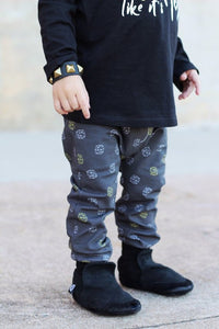 Geometric Hipster Print Harem Pants - Joggers - Leggings for Baby Toddler and Kids