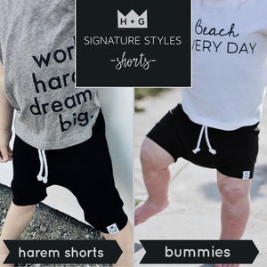 Mouse Graffiti (Mickey) Bummies or Harem Shorts for Baby Toddler & Kids