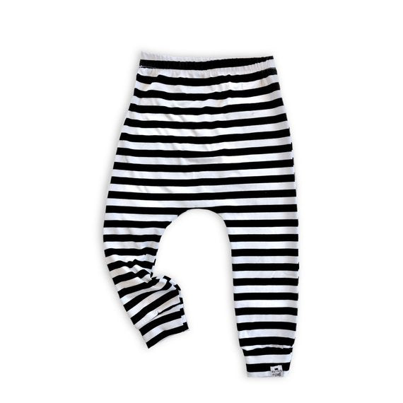 Striped Baby Harem Pants or Leggings for Baby Toddler & Kids