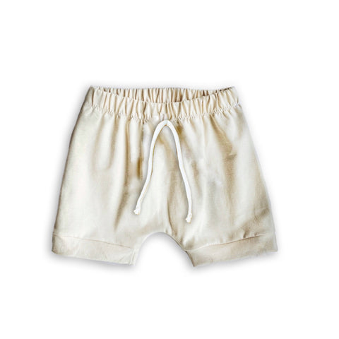 Crew Shorts in Solid Oat
