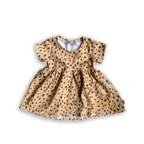 Limited Edition Peplum Tee in Cheetah