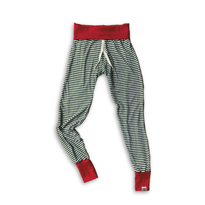 Women's Lounge Pants in Holiday Pine Stripe