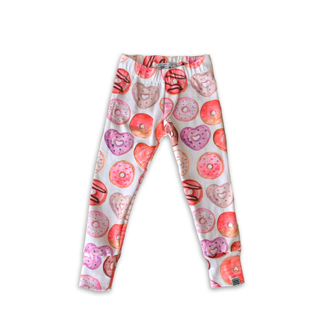 Limited Edition Slim Leggings in Love Donuts